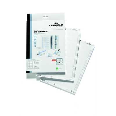 Wkłady do identyfikatorów Badgemaker 30x60 mm