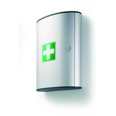 Apteczka bez wyposażenia duża L srebrna ,FIRST AID BOX L DURABLE