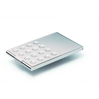 BUSINESS CARD BOX chrome Chrom, etui na wizytówki (20 szt.)