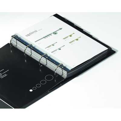 Grzbiet zaciskowy A4, na 30 kartek, z perforacją do segr. - opakowanie detaliczne