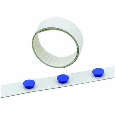 Taśma na magnesy biała, szer. 35 mm, dł. 5m