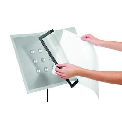 Tabliczka na podstawie podłogowej z ramką magnetyczną A3 DRAVIEW® STAND DURABLE