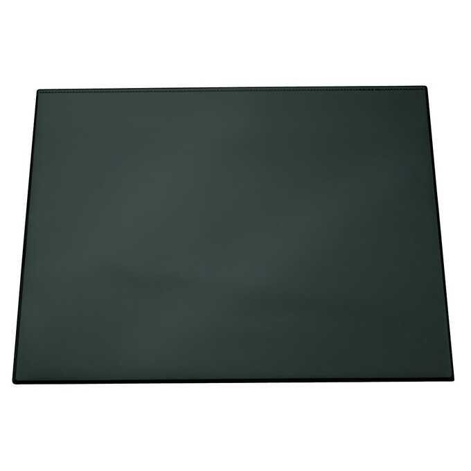 Podkład na biurko z przezroczystą nakładką DURABLE, 650 x 520 mm - Kolor: czarny
