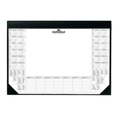 Podkład na biurko z kalendarzem i notatnikiem DURABLE, 590 x 420 mm