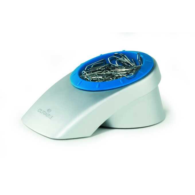 Dyspenser na spinacze VEGAS - Kolor: srebrny