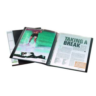 Album ofertowy 10 kieszeni PP czarny DURALOOK DURABLE