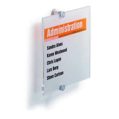 CRYSTAL SIGN tabliczka przydrzwiowa 210x210 mm