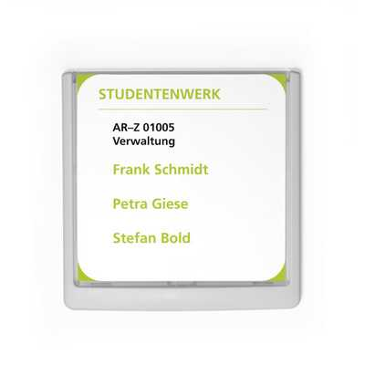 Click Sign tabliczka przydrzwiowa 149x148,5 mm