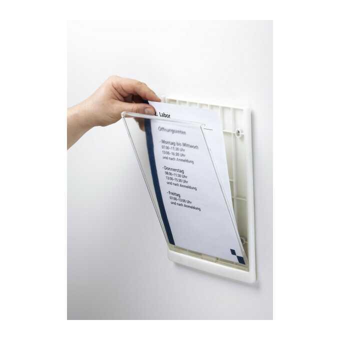 Click Sign tabliczka przydrzwiowa A4 210x297 mm