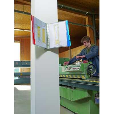 FUNCTION WALL 10 zestaw paneli informacyjnych na ścianę z 10 panelami A4