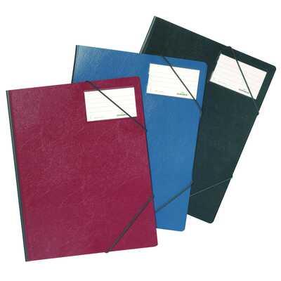 Folder na dok. z gumkami narożnymi 1-150 kartek, PCV