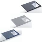 Podkład na biurko z zabezpieczeniem krawędzi DURABLE, 650 x 500 mm