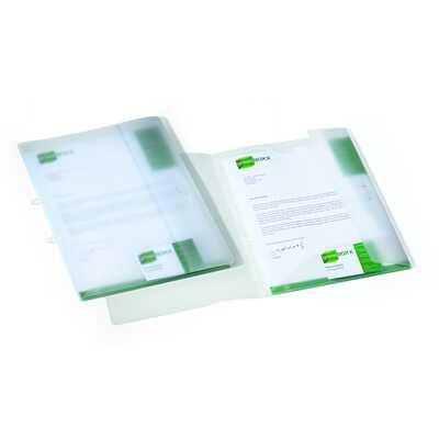MULTIFILE Teczka ofertowa A4, 2 kieszenie wewętrzne, miejsce na wizytówkę, zakładka zamykająca