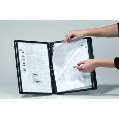 Panele SHERPA® PLUS panele informacyjne A4 pionowe z możliwością otwarcia