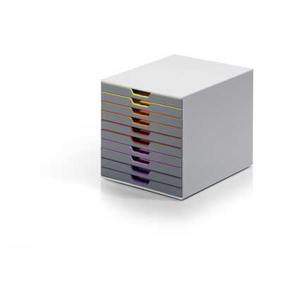 Pojemnik z dziesięcioma szufladami VARICOLOR 10 DURABLE
