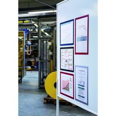 Ramki magnetyczne informacyjne, Duraframe Magnetic A3 Durable, 5 sztuk