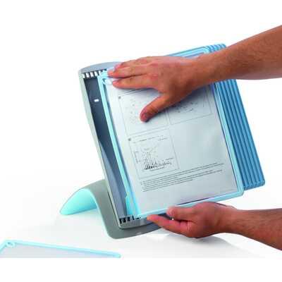 SHERPA BACT-O-CLEAN TABLE 10 zestaw 10 paneli informacyjnych na stół z powłoką antybakteryjną