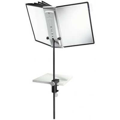SHERPA® DESK CLAMP 10 statyw stołowy z 10 panelami A4