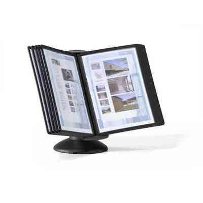 SHERPA MOTION, zestaw paneli informacyjnych stołowy z 10 panelami A4