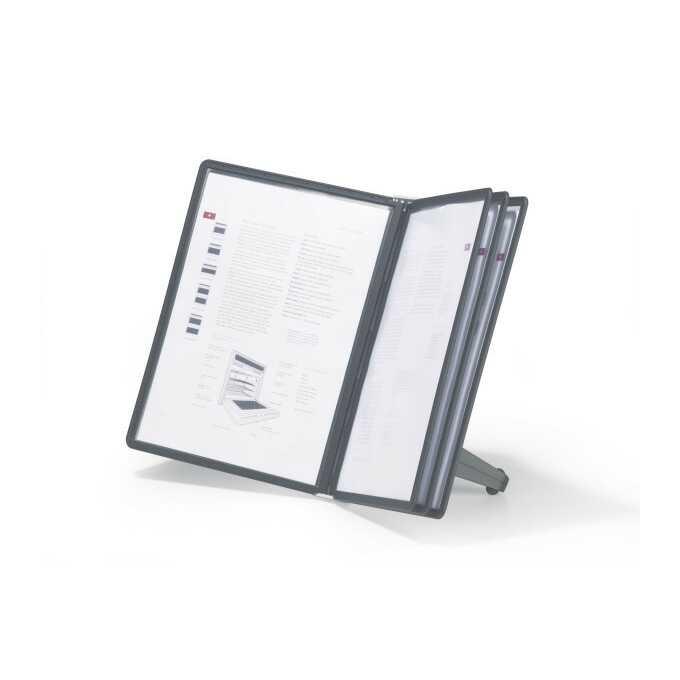 SHERPA SOHO 5, zestaw prezentacyjny stołowy z 5 panelami A4