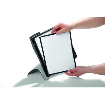 SHERPA STYLE TABLE 10 zestaw paneli informacyjnych na stół z 10 panelami A4