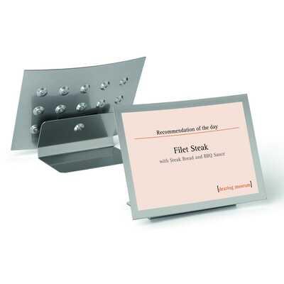 Tabliczka na stół z ramką magnetyczną A4 DURAVIEW® TABLE DURABLE