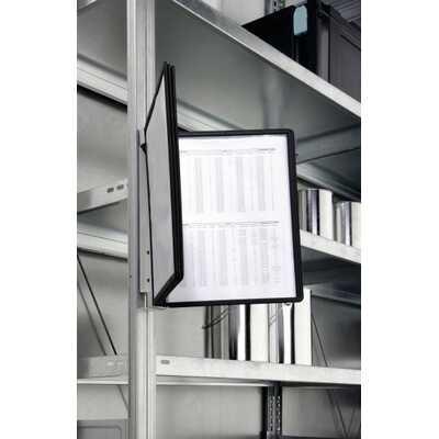 VARIO MAGNET WALL 5 zestaw 5 czarnych paneli informacyjnych na ścianę, moduł magnetyczny