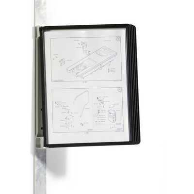VARIO MAGNET WALL 5 zestaw 5 czarnych paneli na ścianę, moduł magnetyczny