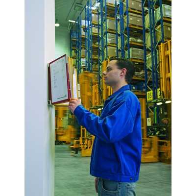 Zestaw 20 Paneli Informacyjnych A4 na ścianę, Vario Wall 20, Durable