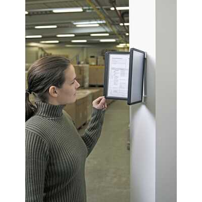 VARIO WALL z 10 panelami informacyjnymi A5, Durable