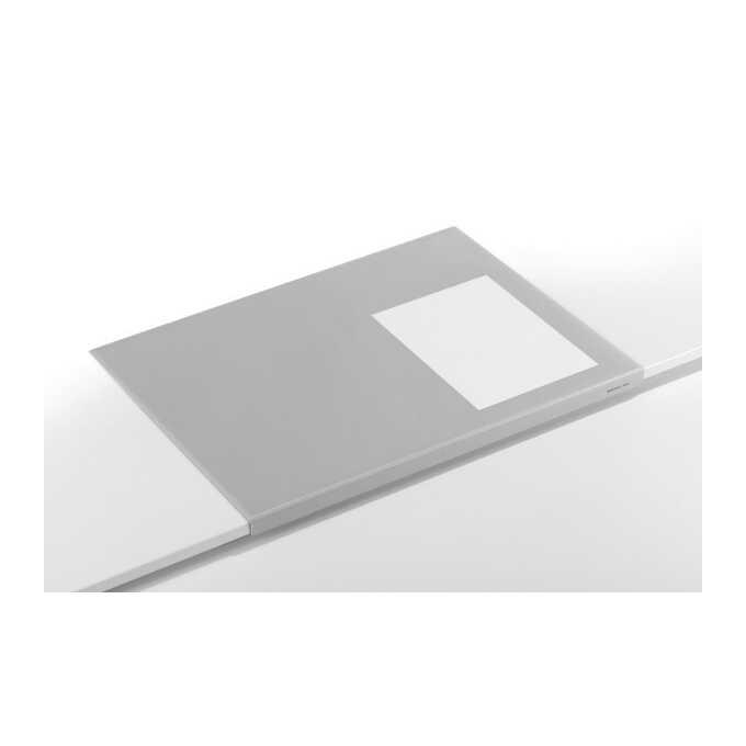 Podkład na biurko z zabezpieczeniem krawędzi DURABLE, 650 x 500 mm - Kolor: szary