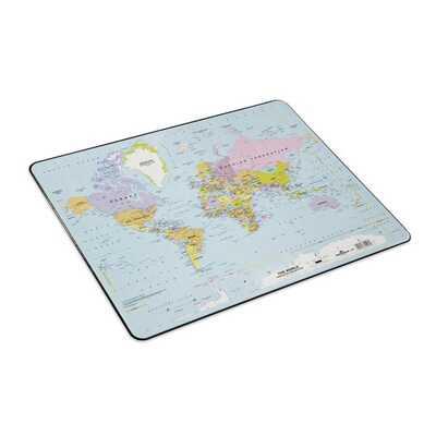 Podkład na biurko z mapą świata DURABLE, 530 x 400 mm