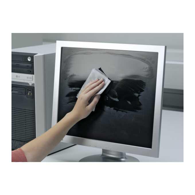 Ściereczki do czyszczenia monitorów i TV, SCREENCLEAN 50 DURABLE