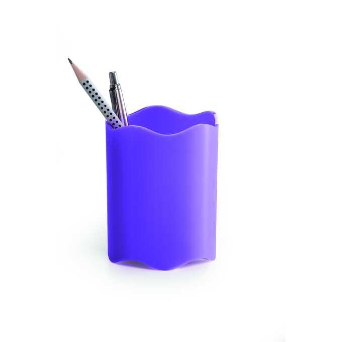 Pojemnik na długopisy TREND DURABLE - Kolor: jasnofioletowy