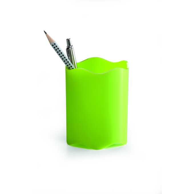 Pojemnik na długopisy TREND DURABLE - Kolor: zielony