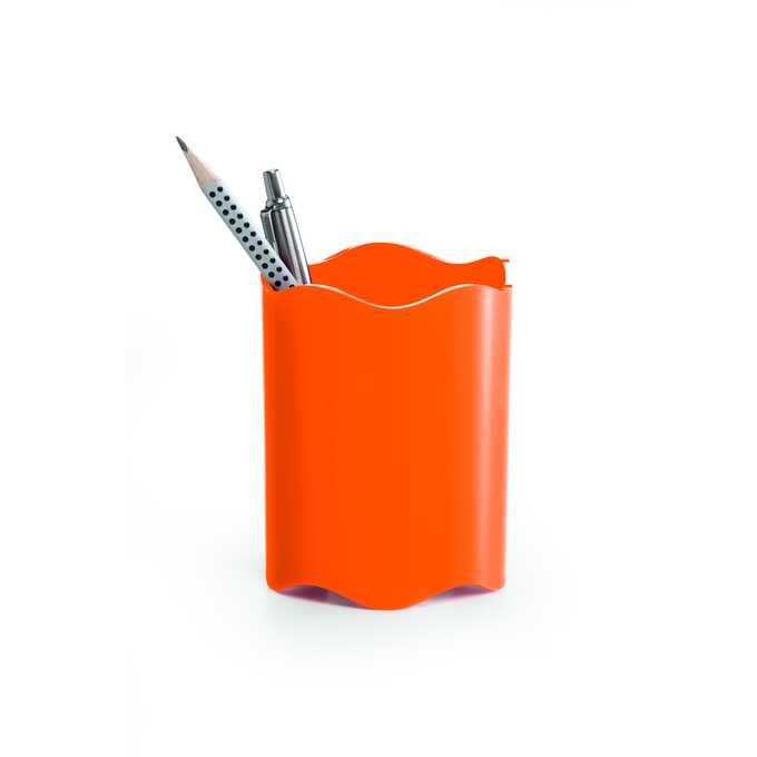 Pojemnik na długopisy TREND DURABLE - Kolor: pomarańczowy