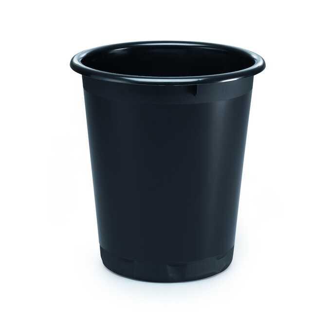 Kosz na śmieci 13 l BASIC DURABLE - Kolor: czarny