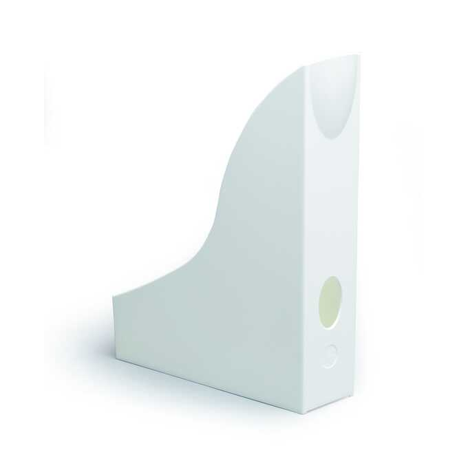 Pojemnik na katalogi A4 BASIC DURABLE - Kolor: biały