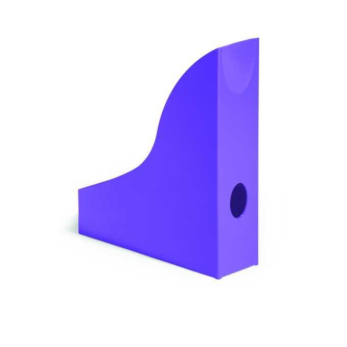 Pojemnik na katalogi A4 BASIC DURABLE - Kolor: jasnofioletowy