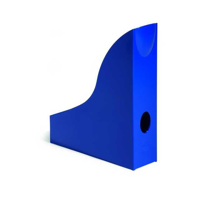 Pojemnik na katalogi A4 BASIC DURABLE - Kolor: niebieski