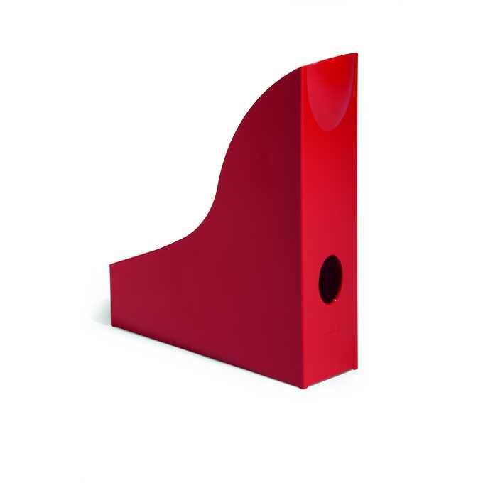 Pojemnik na katalogi A4 BASIC DURABLE - Kolor: czerwony