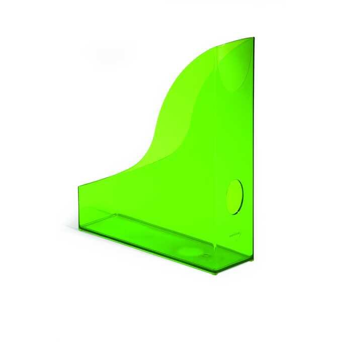 Pojemnik na katalogi A4 BASIC DURABLE - Kolor: jasnozielony