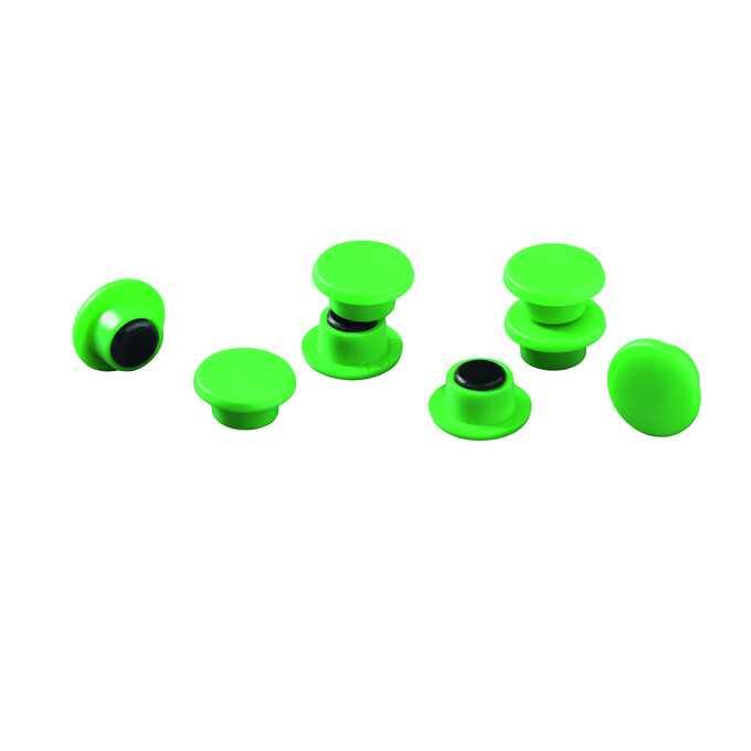 Magnesy do tablic DURABLE Ø 15 mm, 20 sztuk - Kolor: zielony