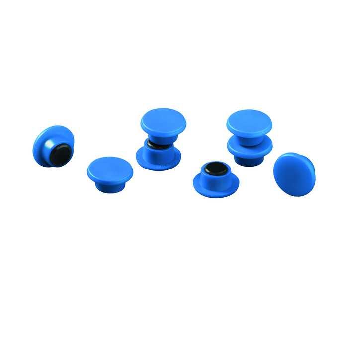 Magnesy do tablic DURABLE Ø 15 mm, 20 sztuk - Kolor: niebieski