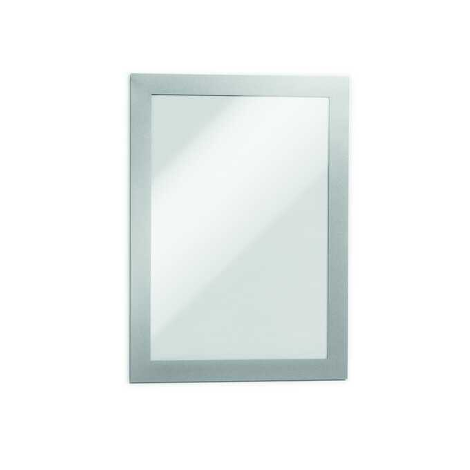 Ramka magnetyczna informacyjna DURAFRAME MAGNETIC A5 DURABLE - Kolor: srebrny