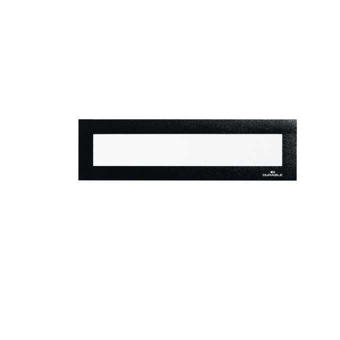 Ramka magnetyczna do nagłówków DURAFRAME MAGNETIC TOP DURABLE A4 - Kolor: czarny