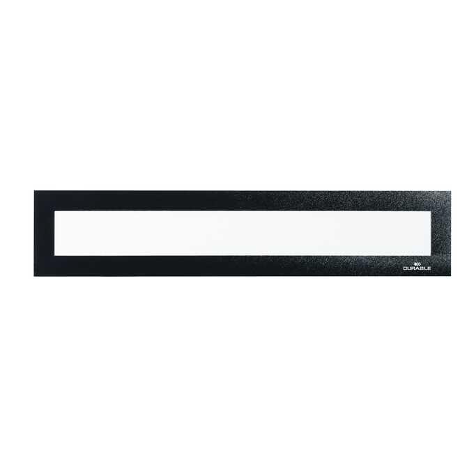 Ramka magnetyczna do nagłówków DURAFRAME MAGNETIC TOP DURABLE, A3 - Kolor: czarny