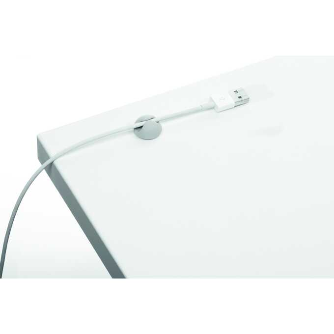 Samoprzylepne klipsy na 1 kabel CAVOLINE CLIP DURABLE,  6 sztuk - Kolor: szary