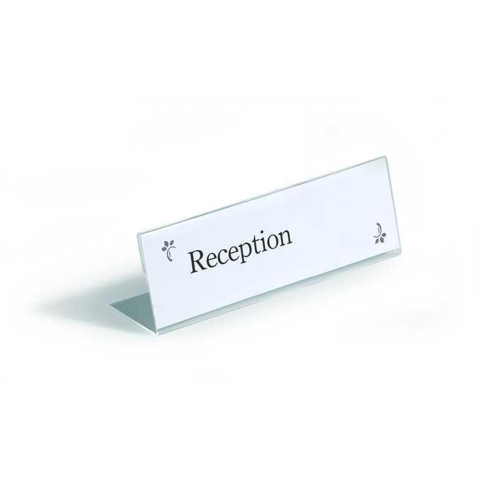 Identyfikator stołowy z akrylu 61x210 mm