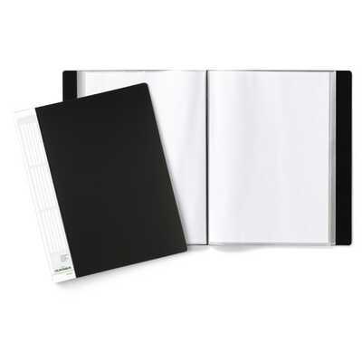 Album ofertowy 50 kieszeni PP czarny DURALOOK DURABLE